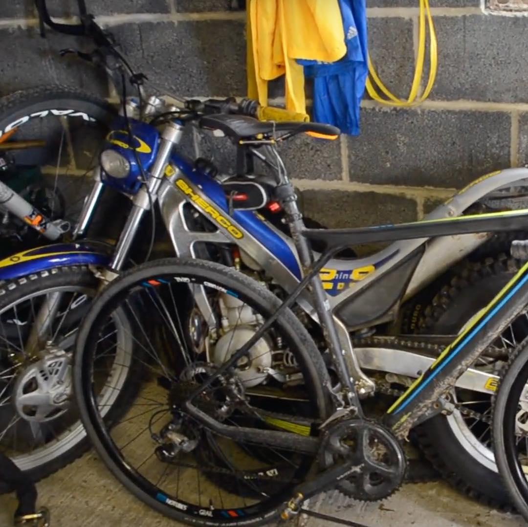 Hans Rey has bikes stolen in East Midlands    twice - MBR