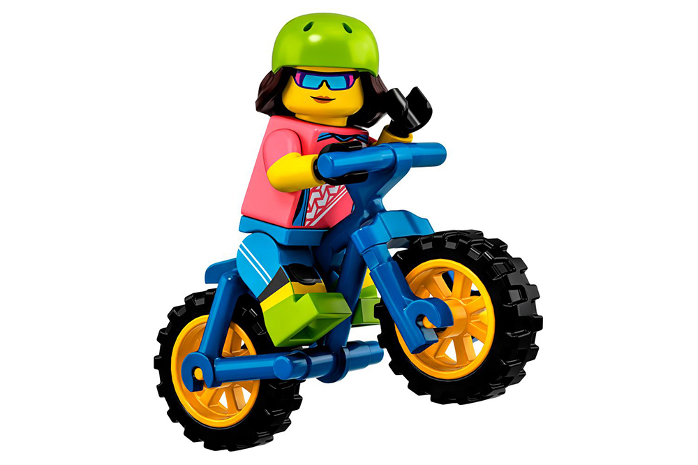 New Lego Minifigure Series Features A Mountain Biker Mbr