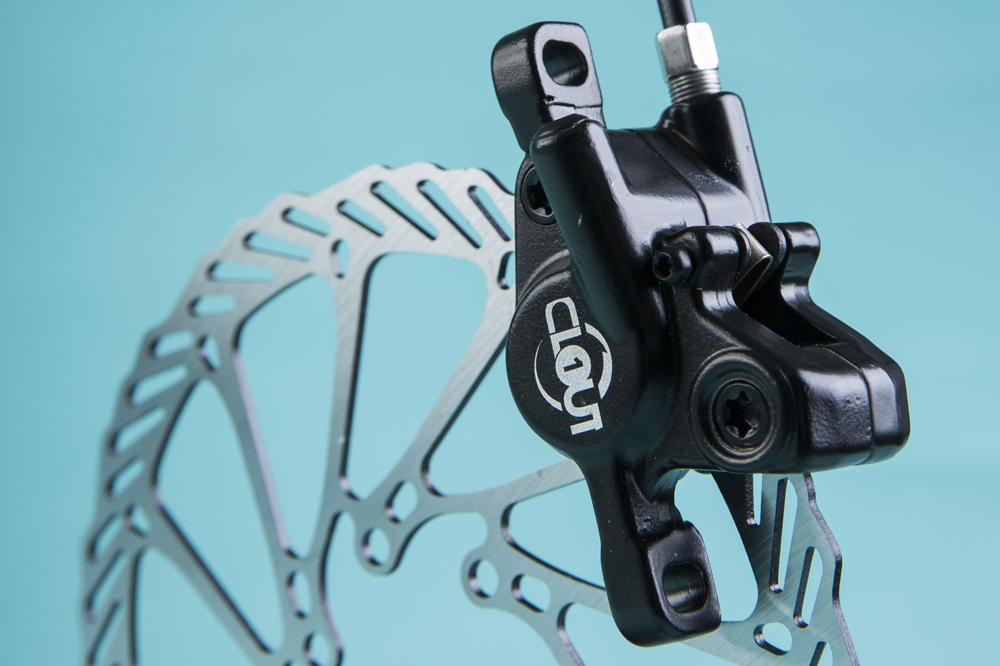 Clarks V-Brake Caliper in Black Ideal For MTB And Hybrid Cycles