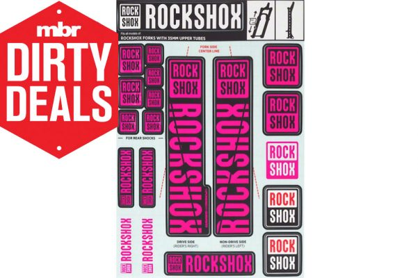 Pink Left /& Right Decals Set 34mm FOX Performance Series Fork 34 Purple