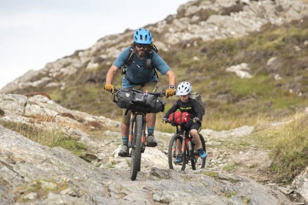 How to go bikepacking with your kids