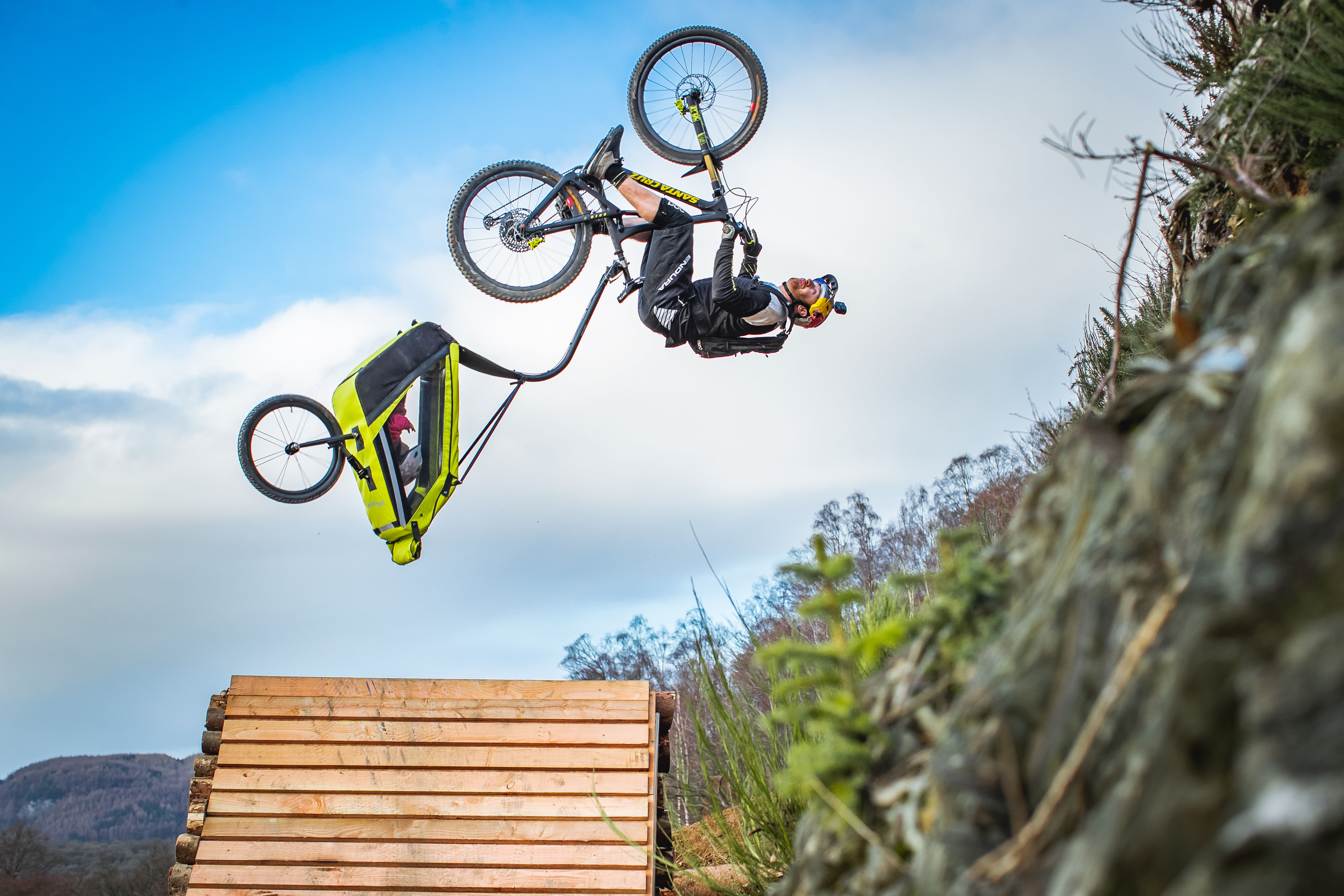 """It would try to jackknife me into corners!"" – Danny MacAskill on Danny Daycare"
