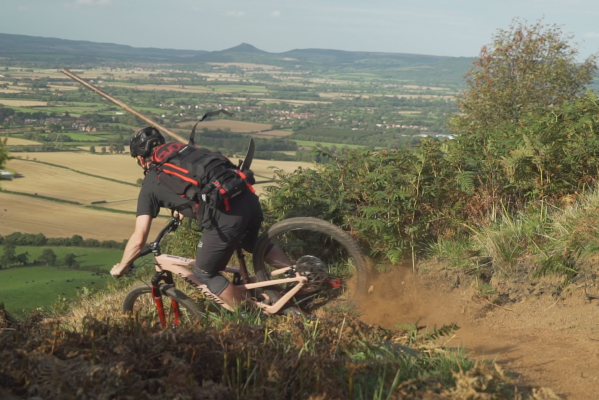Watch Chris Akrigg build trails for next week's Ard Moors enduro