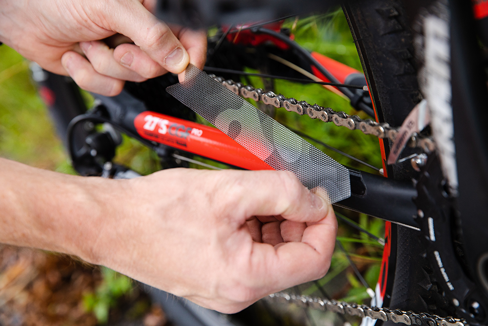 Néoprène Cycle//Vélo Chaîne Stay Frame Guard Protector