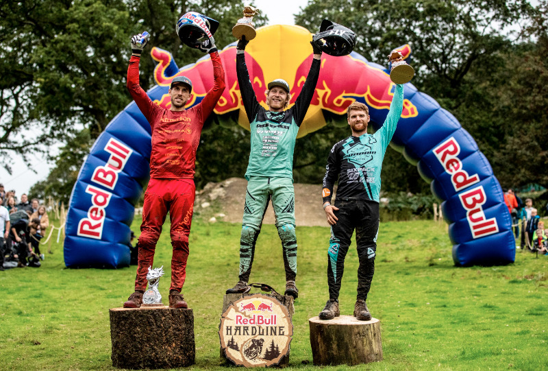 Bernard Kerr makes history at this year's Red Bull Hardline - MBR