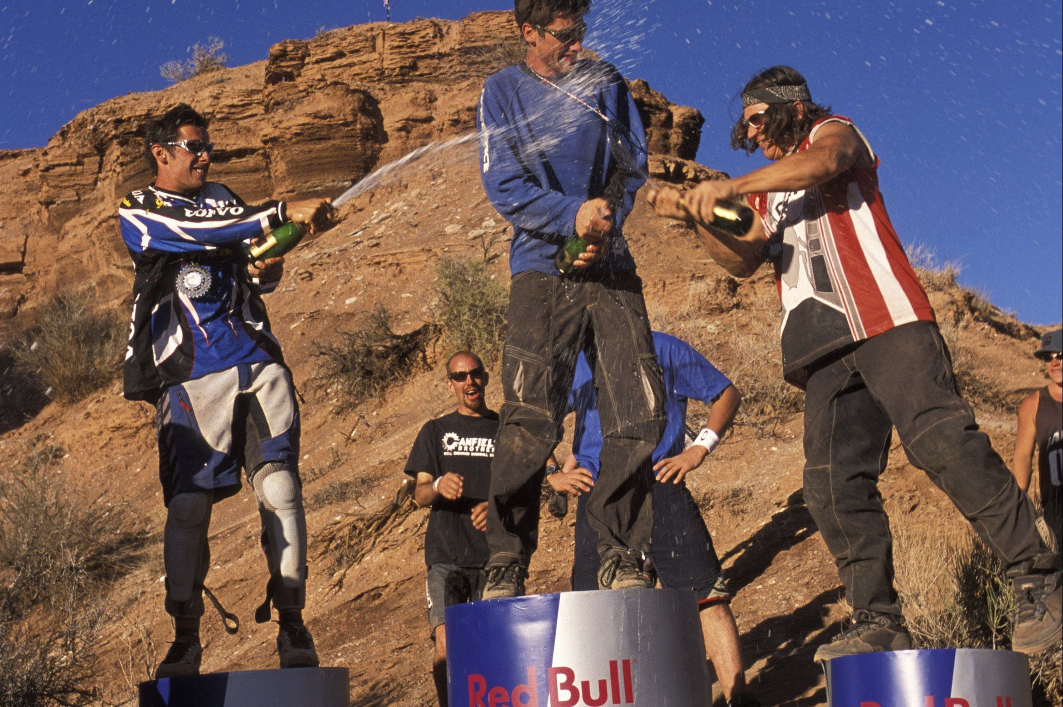 2001-2003 Red Bull Rampage: no tricks, just trying to stay on the bike! - MBR