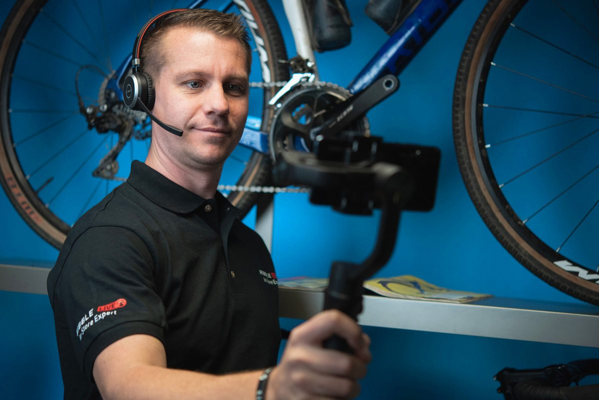 Ribble Cycles' Live In-Store is like Facetime-ing their shopfloor staff - MBR