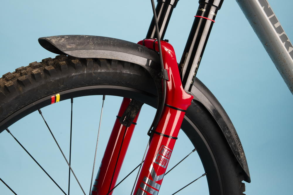 Bicycle Front and Back Mudguards MTB Mudguard Mud Guard Fender Slim Fork Fender
