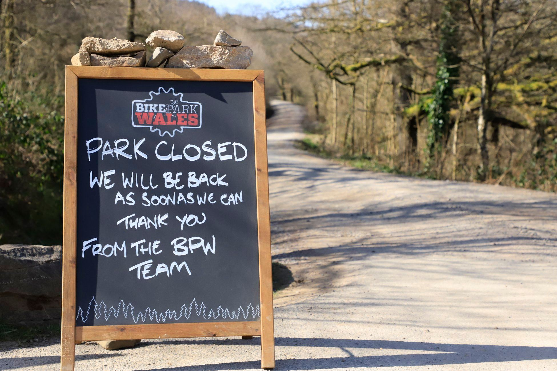 BikePark Wales closed again due to local Covid restrictions - MBR