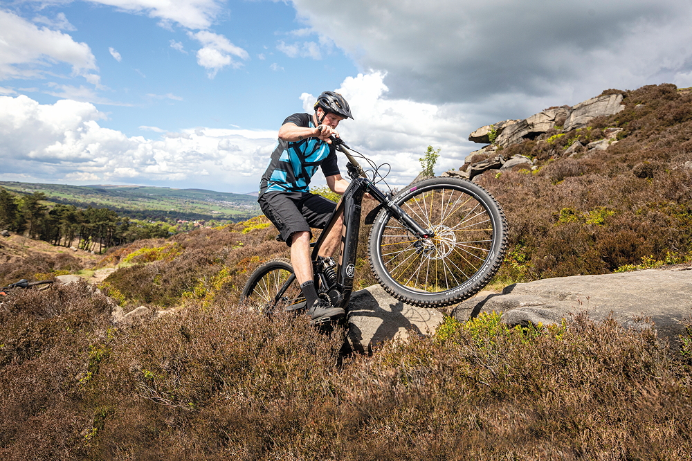 How to climb up (almost) anything on an ebike - MBR
