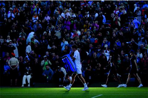 Rolex Wimbledon: Antoine Couvercelle