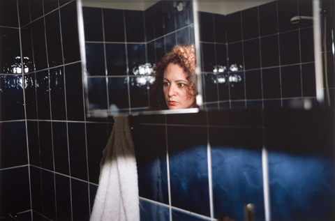 Self Portrait in the Blue Bathroom 1991