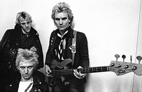 The Police photos by Lawrence Impey