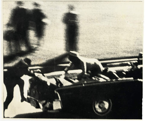 Still images from JFK shooting