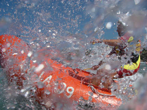 Lifeguard Bobby Renaud scoops RNLI photo title