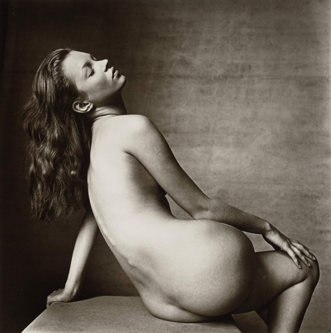 Kate Moss by Irving Penn