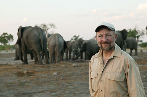 Steve Bloom in Botswana