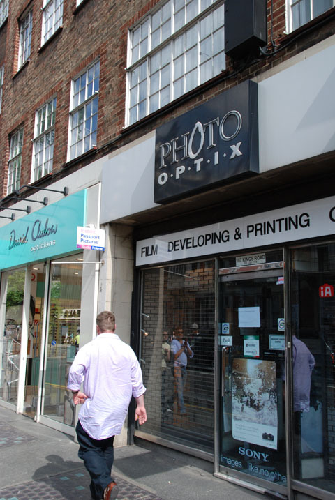 Photo Optix King's Road store may be saved