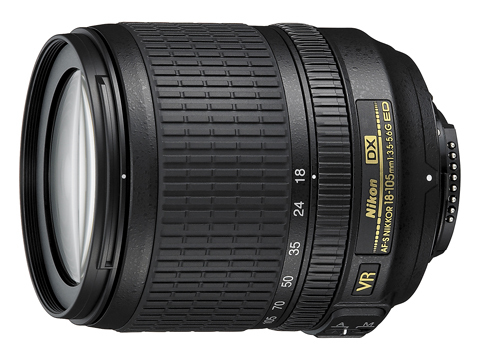 Nikon 18-105mm Vibration Reduction (VR) lens