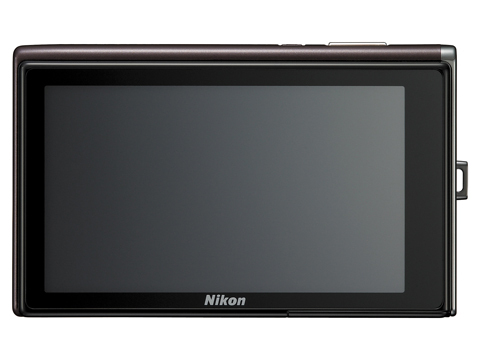 Coolpix S60, screen
