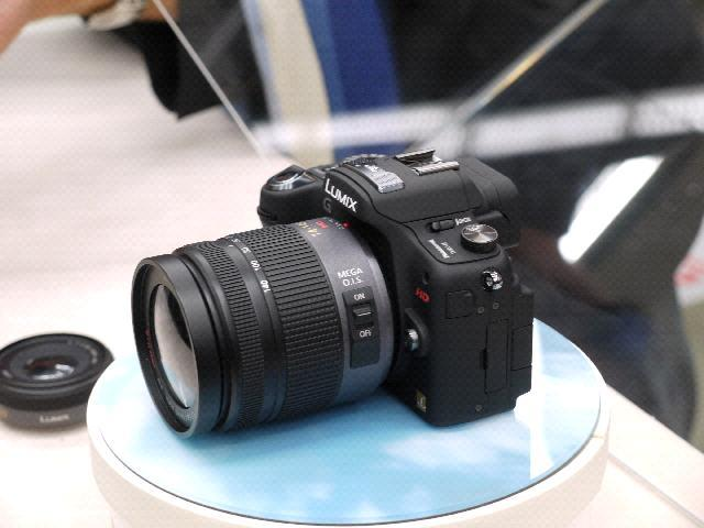 Panasonic G camera with video