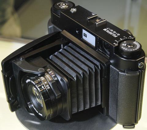 Fuji folding camera