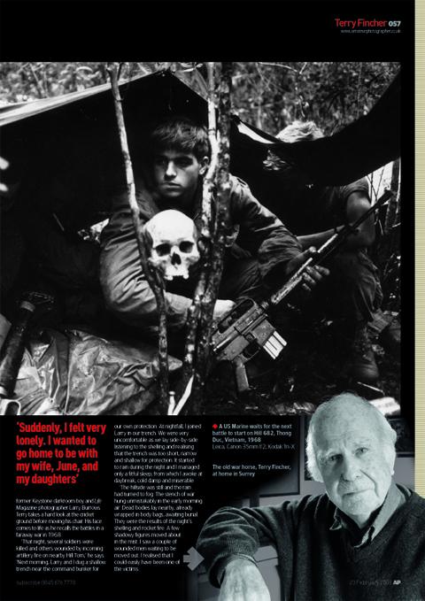 AP interview Terry Fincher
