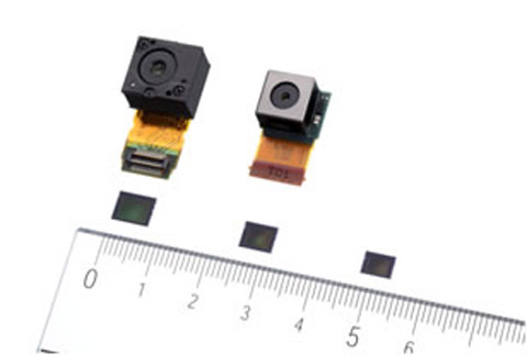 Sony imaging sensors and lens modules