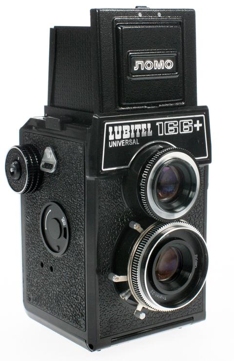 Lomo Lubitel 166+ camera