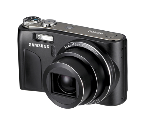 Samsung WB500 camera at CES