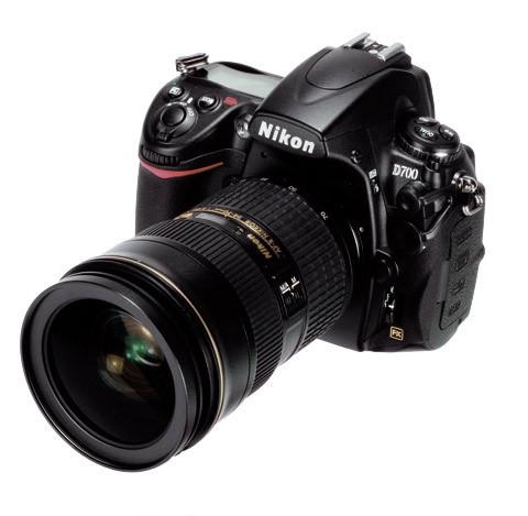 Nikon D700 camera winner