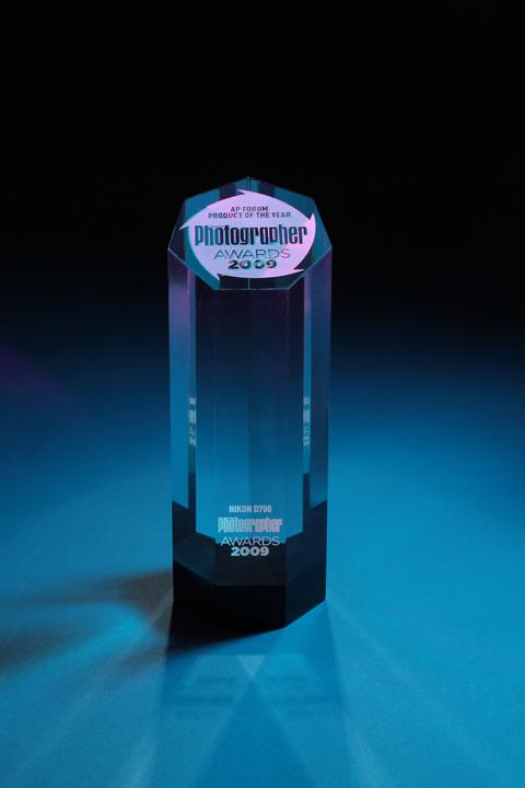 Nikon D700 camera wins award