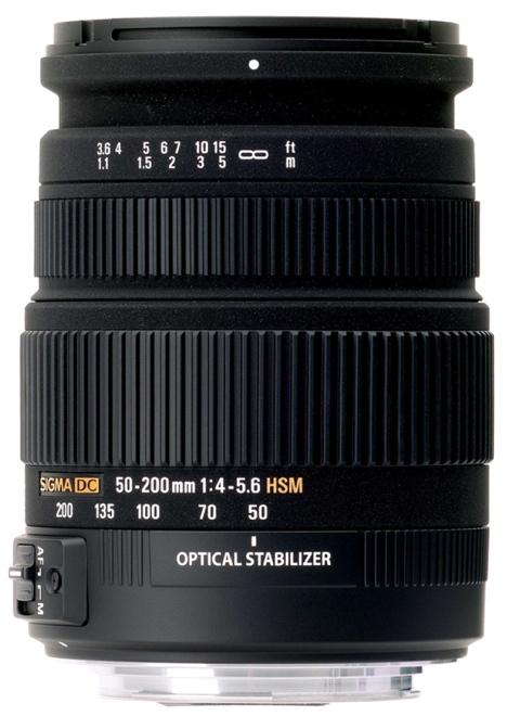 Sigma 50-200mm