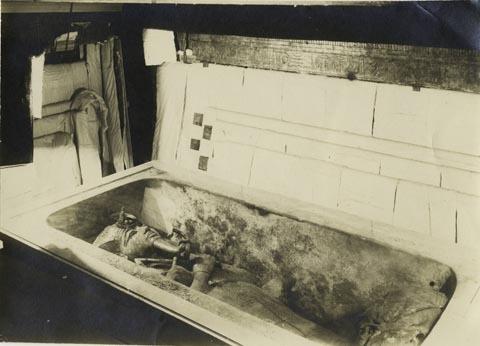 Picture, Tutankhamun coffin