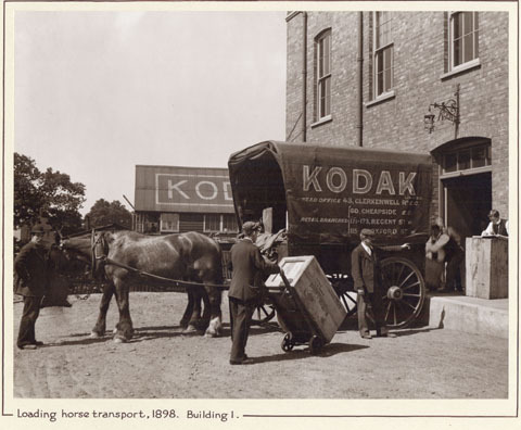 Kodak, British Library deal