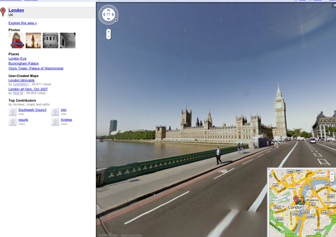 Google Street view and privacy