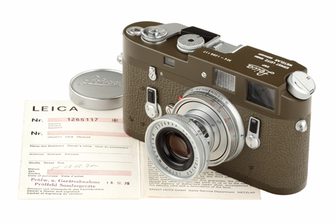 Leica M4 olive