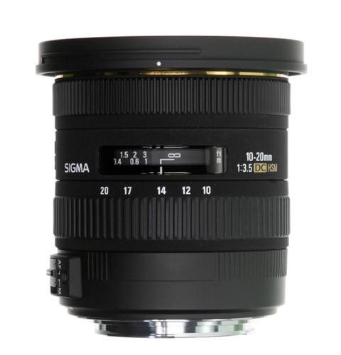 Sigma 10-20mm lens image