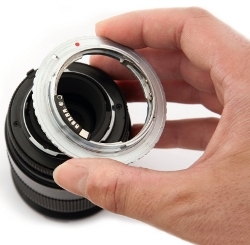 Second hand lens adapter
