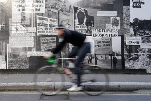 Bike - no panning shot
