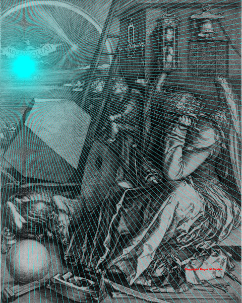 Melancholia by Albrecht Durer
