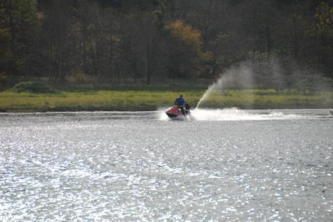 Jet ski drama image