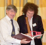 Bob Aldridge and Brian May