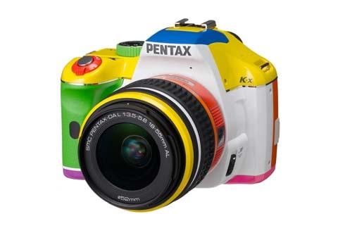 Pentax rainbow K-x image