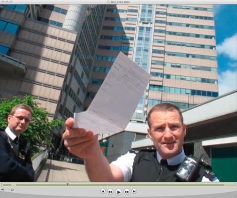 Police stop Grant Smith