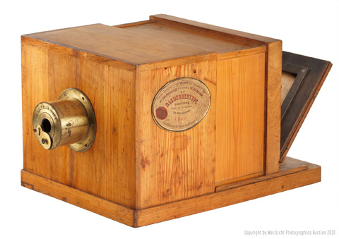 Daguerre camera