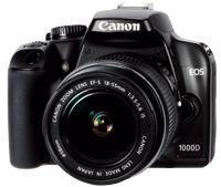 Canon EOS 1000D DSLR