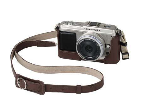 Olympus E-P1 image and case