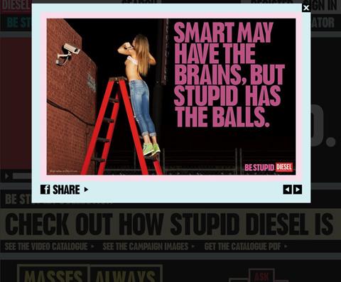 Diesel ad image