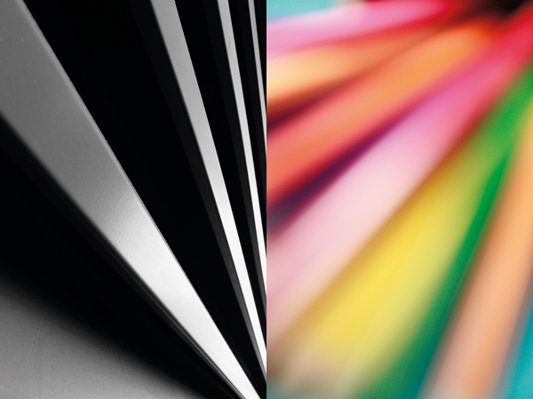 Abstract windowblinds - Converging verticals can be used creatively in abstract images, such as in these two examples